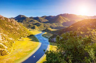 Montenegro Coast And Peaks